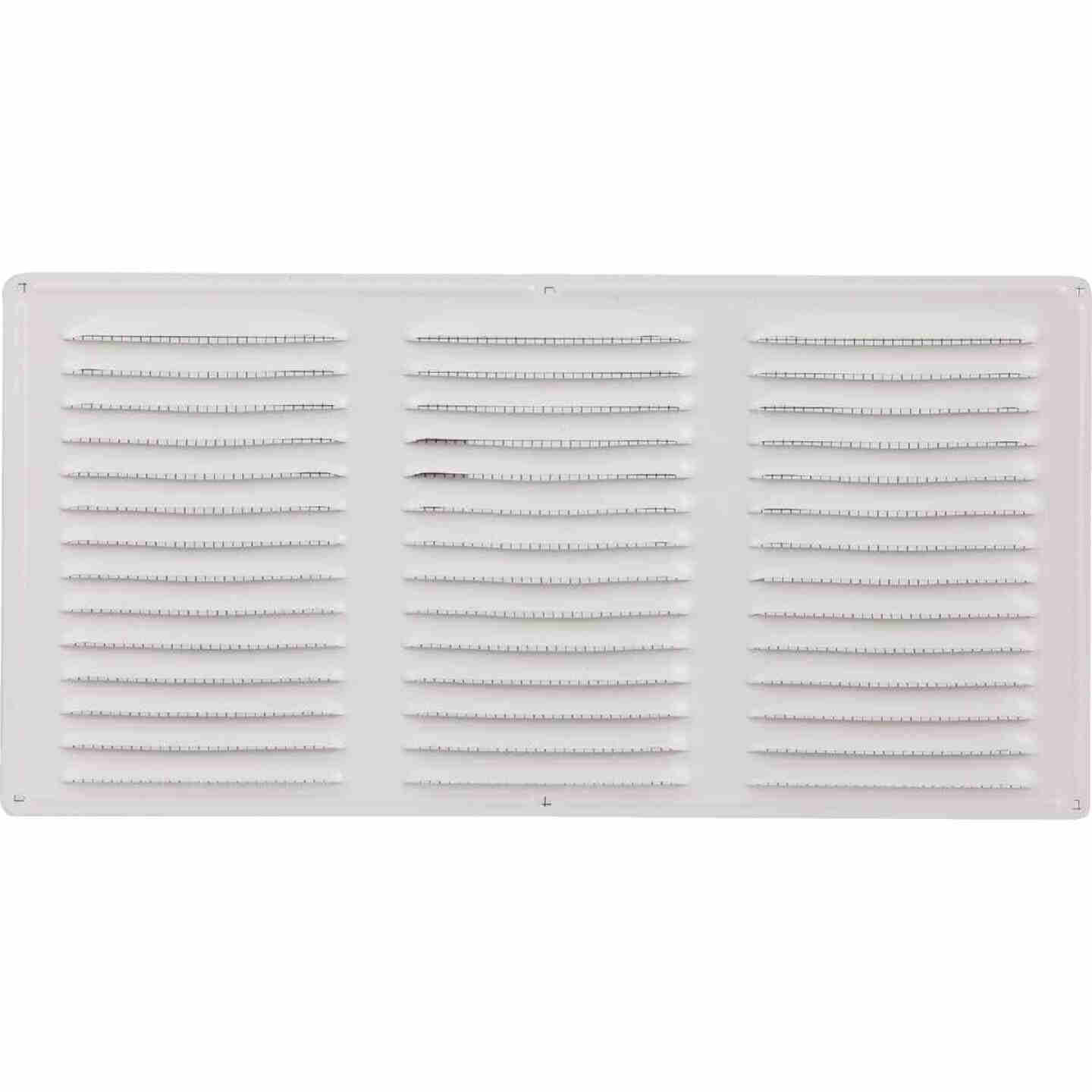 Air Vent 16 In. x 8 In. White Aluminum Under Eave Vent Image 2