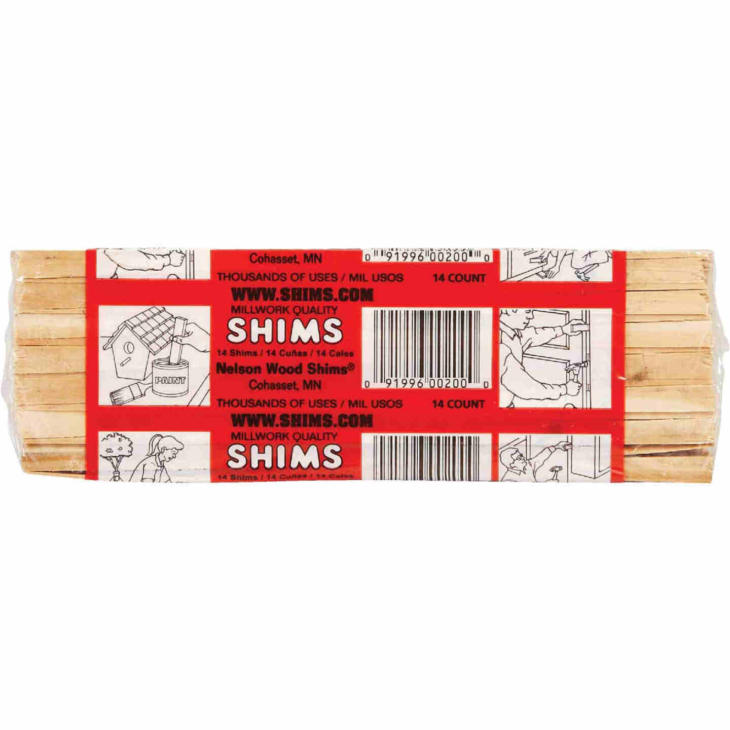 Nelson Wood Shims 8 In. L Wood Shim (12-Count) Image 2