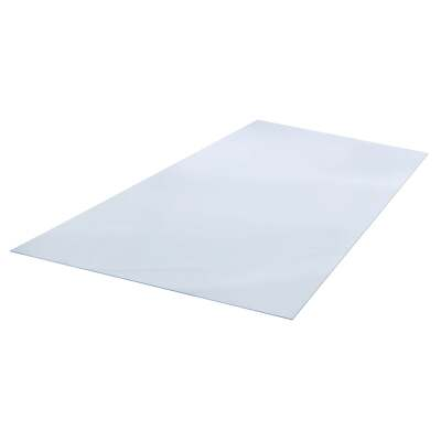 "Plaskolite OPTIX 24"" x 48"" x 0.220 (1/4"") Clear Acrylic Sheet"
