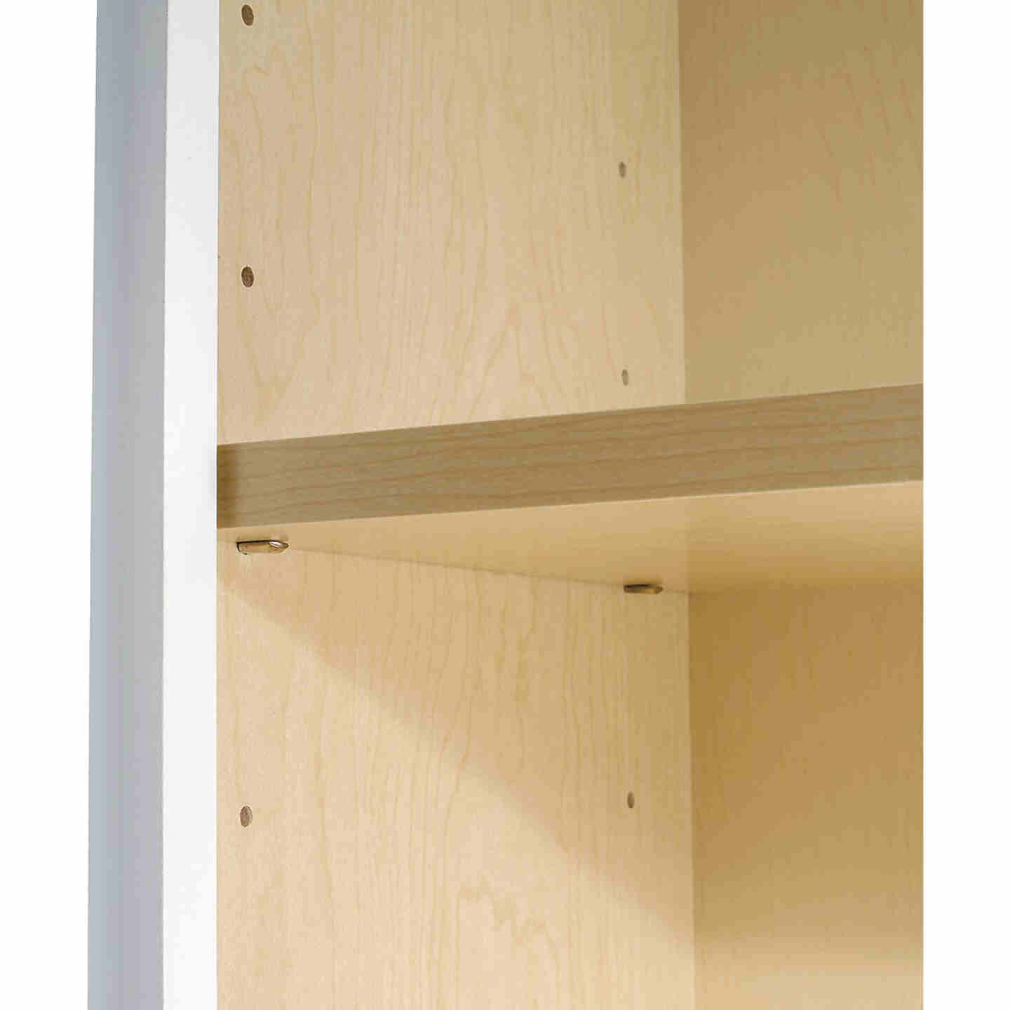 Continental Cabinets Andover Shaker 18 In. W x 30 In. H x 12 In. D White Thermofoil Wall Kitchen Cabinet Image 4