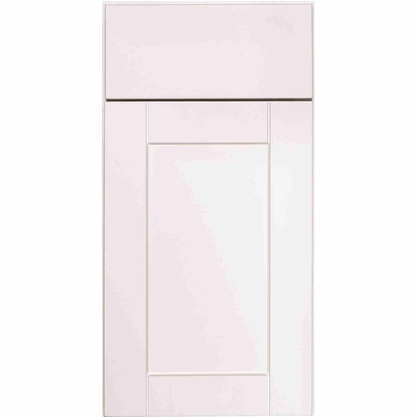 Continental Cabinets Andover Shaker 12 In. W x 34-1/2 In. H x 21 In. D White Drawer Vanity Base Image 3