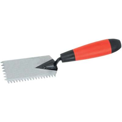 Do it Best 1/4 In. V-Margin Notched Trowel