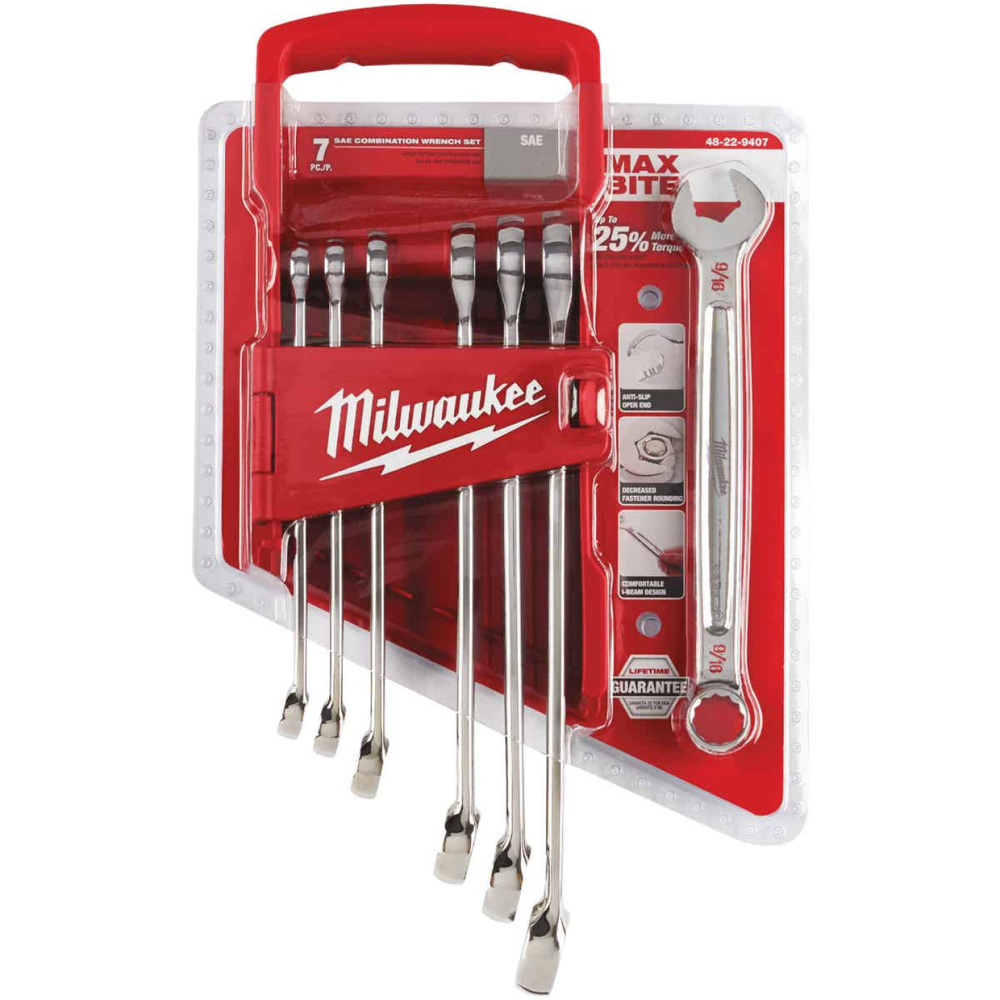 Milwaukee Standard 12-Point Combination Wrench Set (7-Piece) Image 2