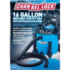 Channellock 16 Gal. 6.5-Peak HP Wet/Dry Vacuum with Blower Image 2