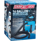 Channellock 16 Gal. 6.5-Peak HP Wet/Dry Vacuum with Blower Image 3