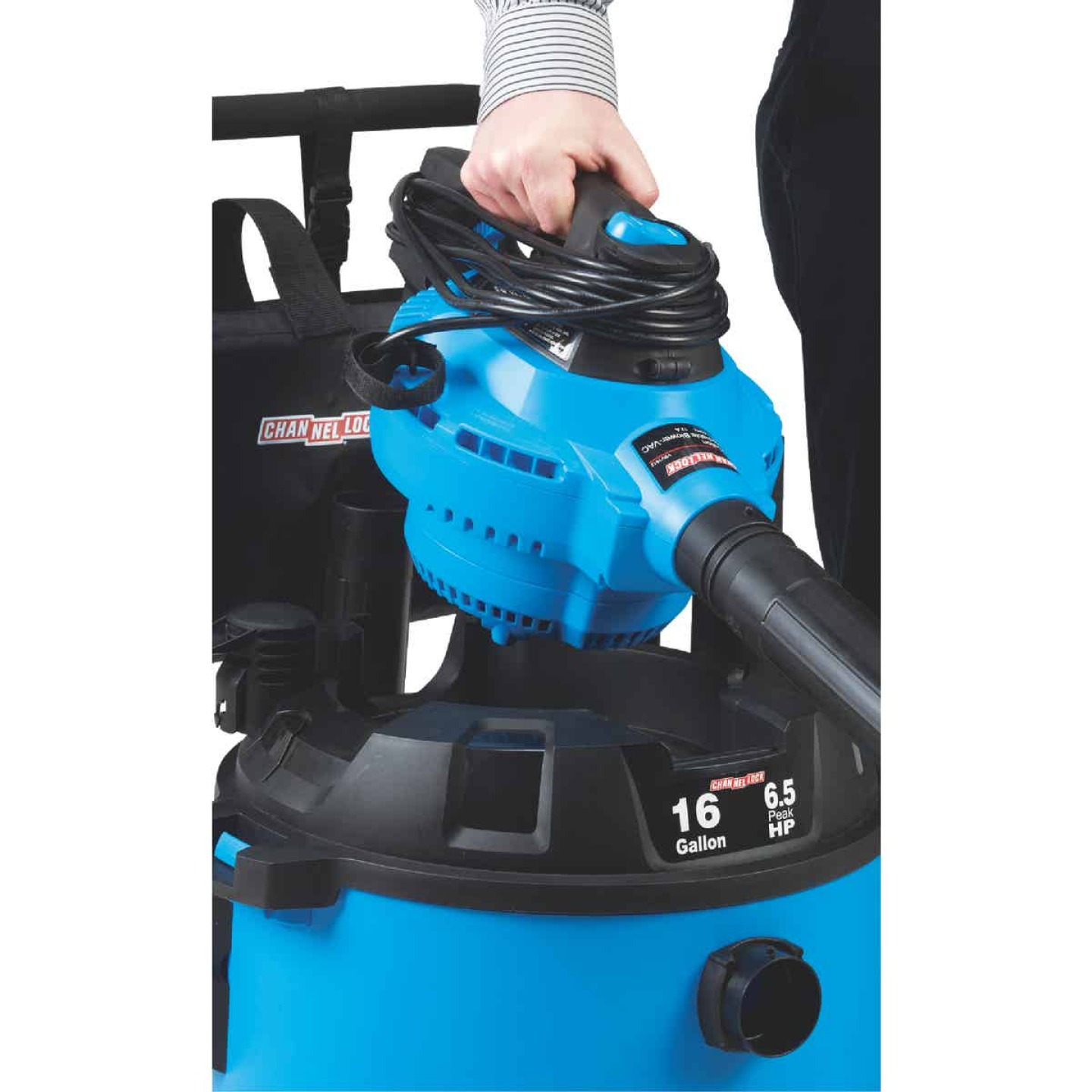 Channellock 16 Gal. 6.5-Peak HP Wet/Dry Vacuum with Blower Image 8