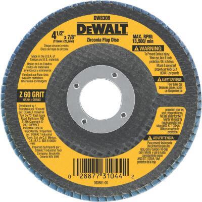DeWalt 4-1/2 In. 60-Grit Type 29 High Performance Angle Grinder Flap Disc