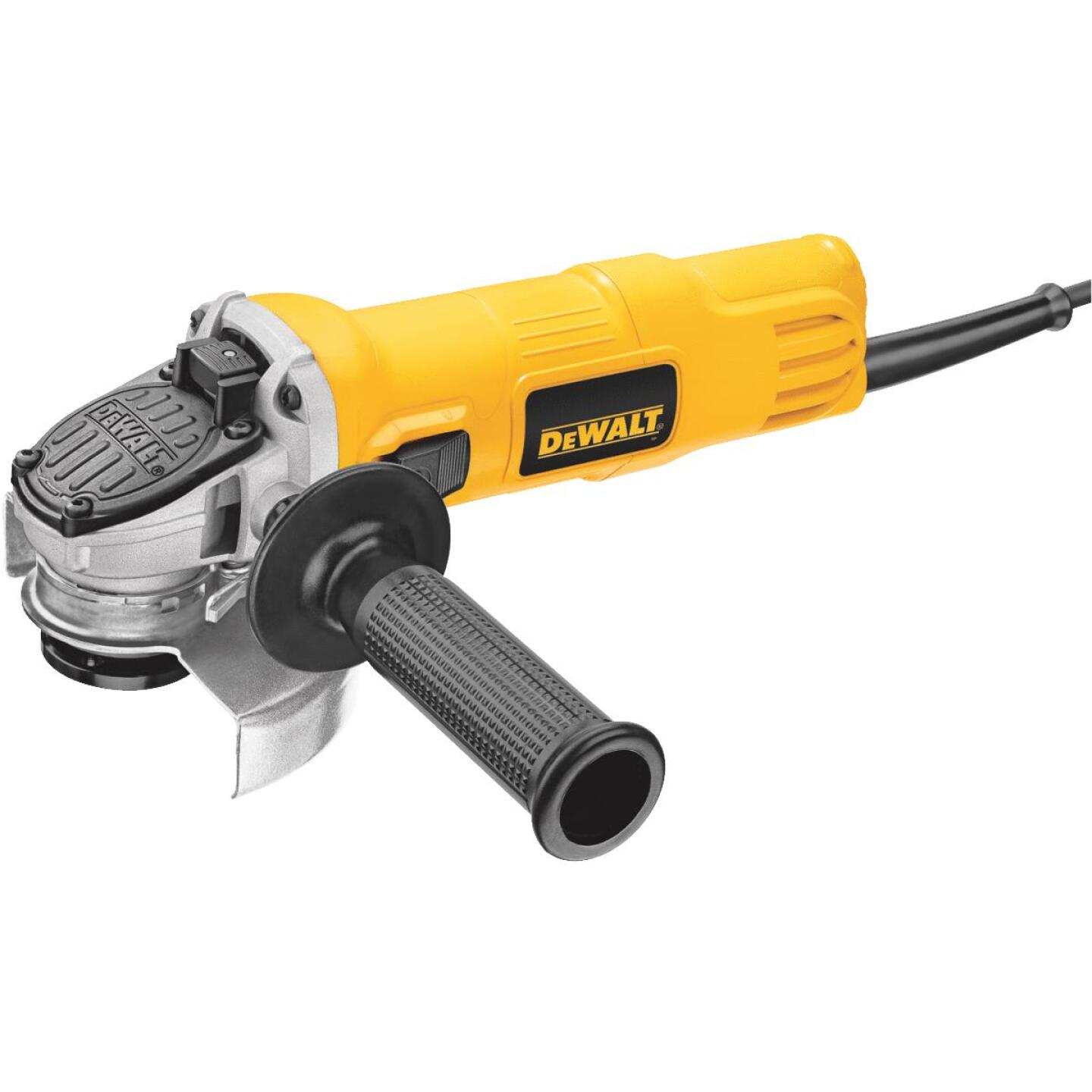 DeWalt 4-1/2 In. 7-Amp Angle Grinder with One-Touch Guard Image 1