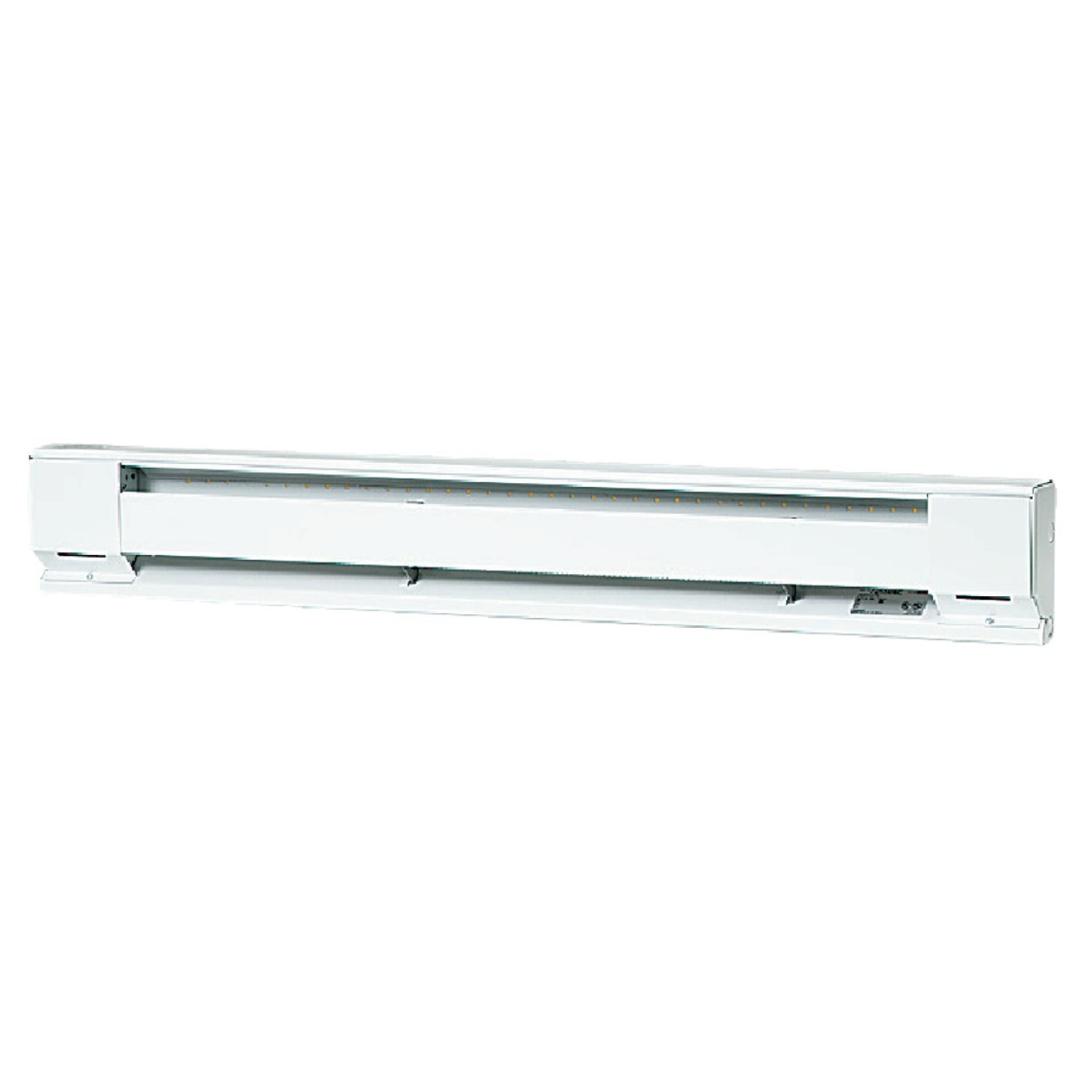 Fahrenheat 48 In. 1000-Watt 120-Volt Electric Baseboard Heater, Northern White Image 1