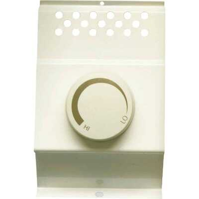 Cadet Almond Single Cadet BTF1 Electric Baseboard Heater Thermostat