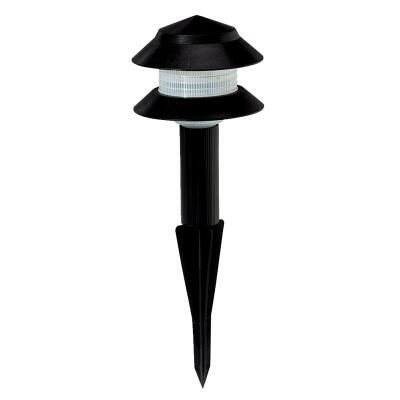 Moonrays Incandescent Black 2-Tier Landscape Stake Light Assembly