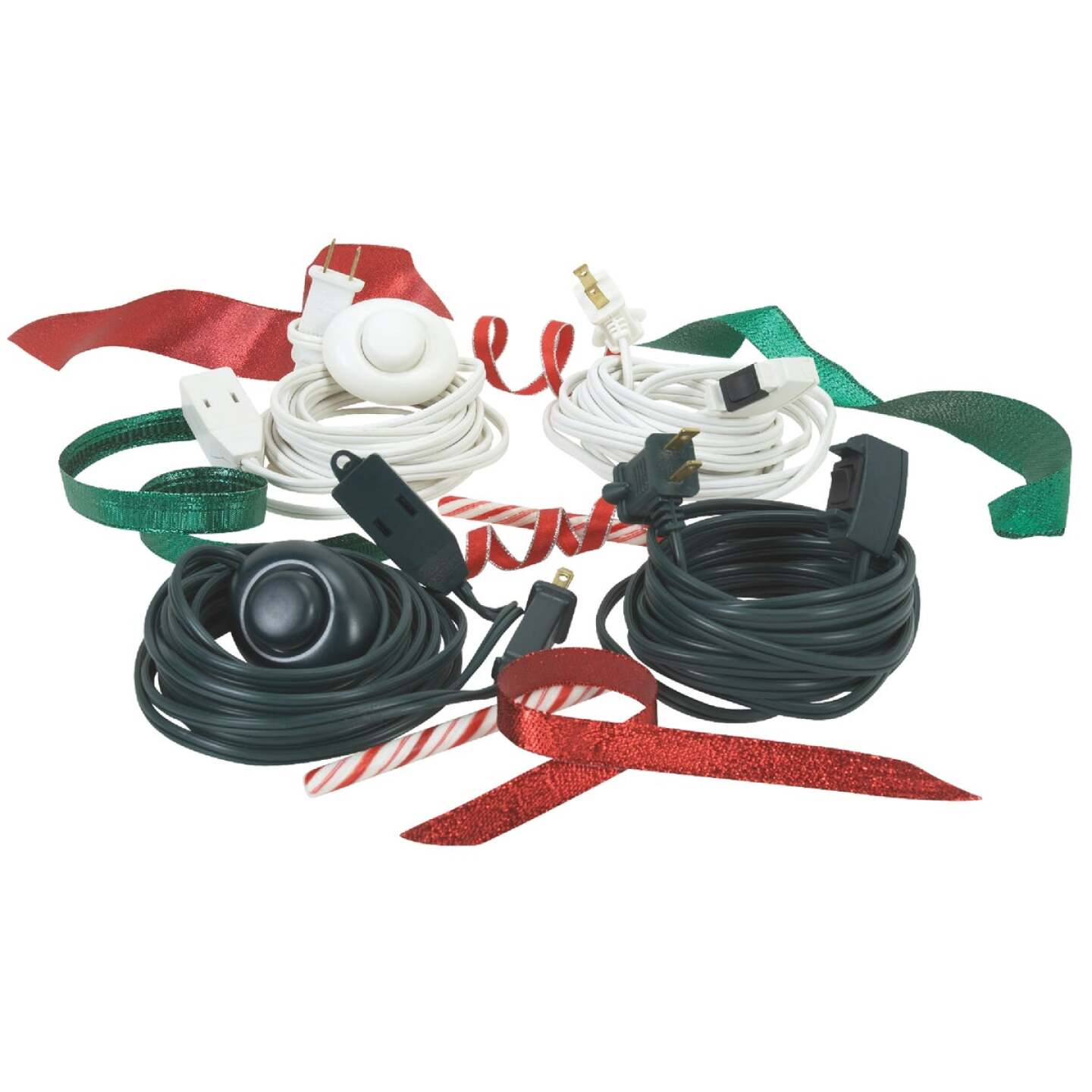 Do it 15 Ft. 16/2 Green Extension Cord with Switch Image 2