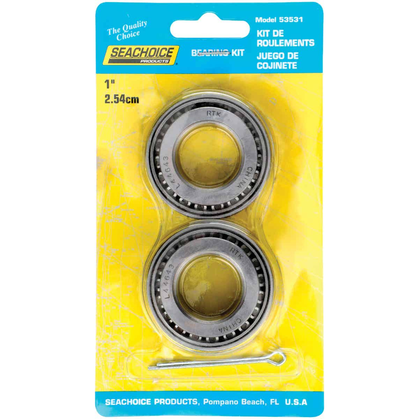 Seachoice 1 In. Marine Boat Trailer Bearing Set (2-Pack) Image 1