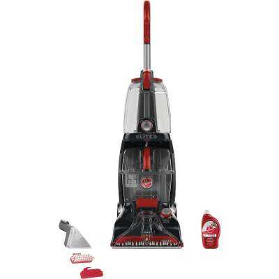 Hoover Power Scrub Elite 1.25 Gal. Pet Upright Carpet Cleaner Machine
