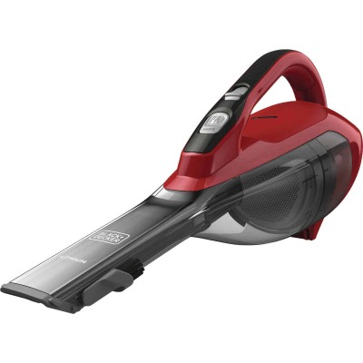 Black & Decker Dustbuster 10.8V 2.0AH Chili Red Cordless Handheld Vacuum Cleaner