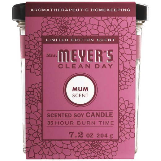 Mrs. Meyer's Clean Day 7.2 Oz. Mum Soy Candle