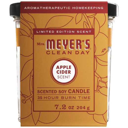 Mrs. Meyer's Clean Day 7.2 Oz. Apple Cider Soy Candle