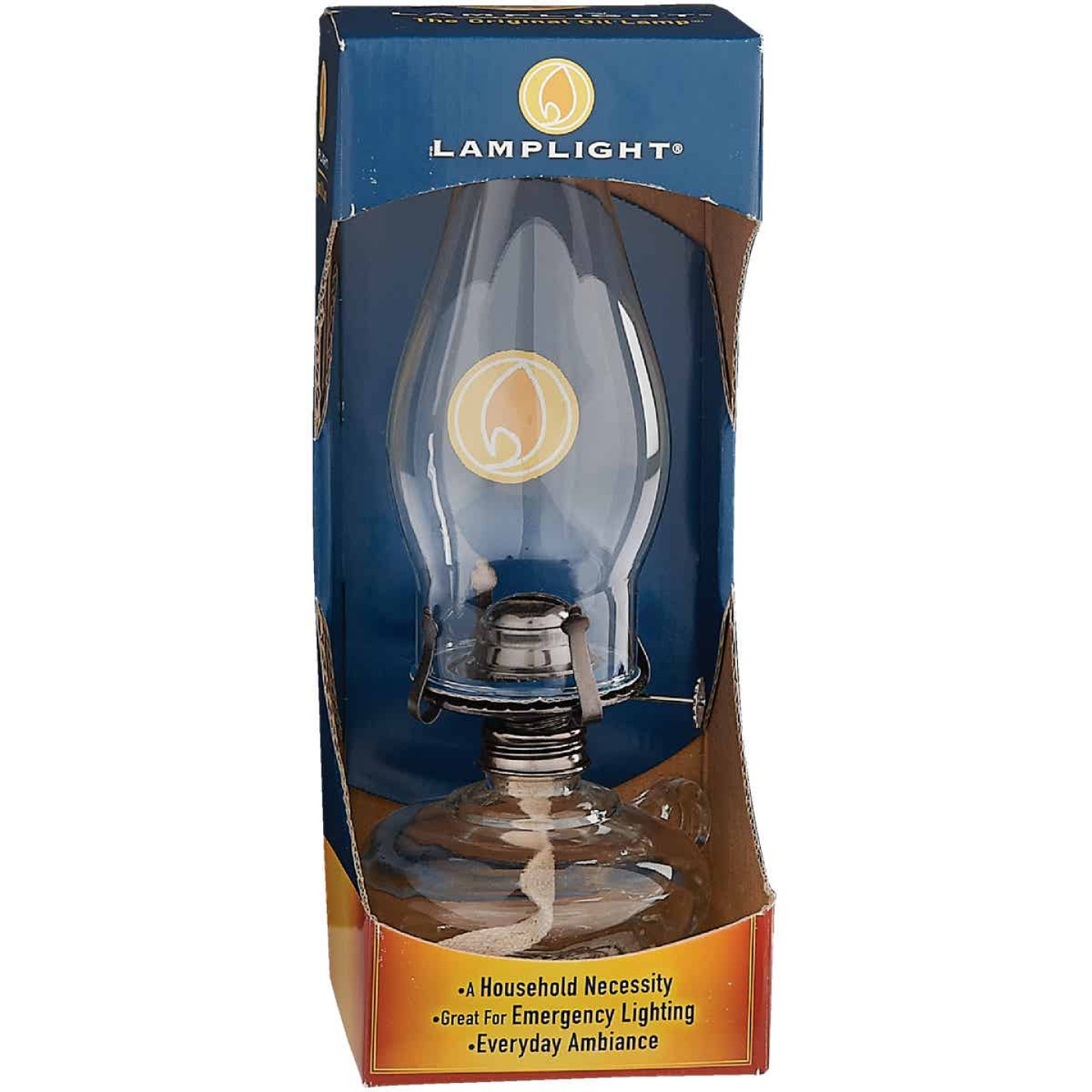 Lamplight Farms 11.5 In. H. Chamber Oil Lamp Image 2