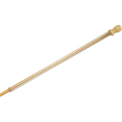 Evergreen 56 In. x 1 In. Wood Anti-Wrap Flag Pole