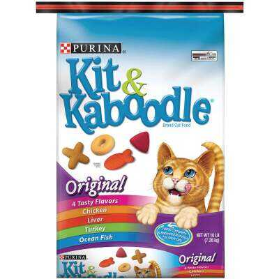 Purina Kit & Kaboodle 16 Lb. Chicken, Liver, Turkey, & Fish Flavor Adult Dry Cat Food