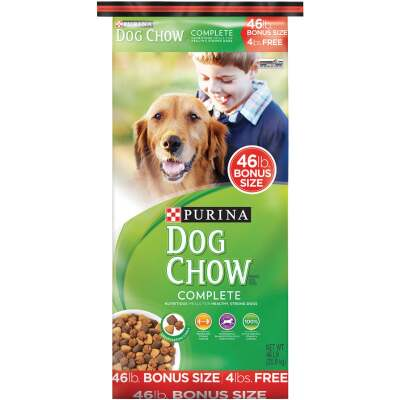 Purina Dog Chow Complete 46 Lb. Bonus Size Chicken Flavor Adult Dry Dog Food