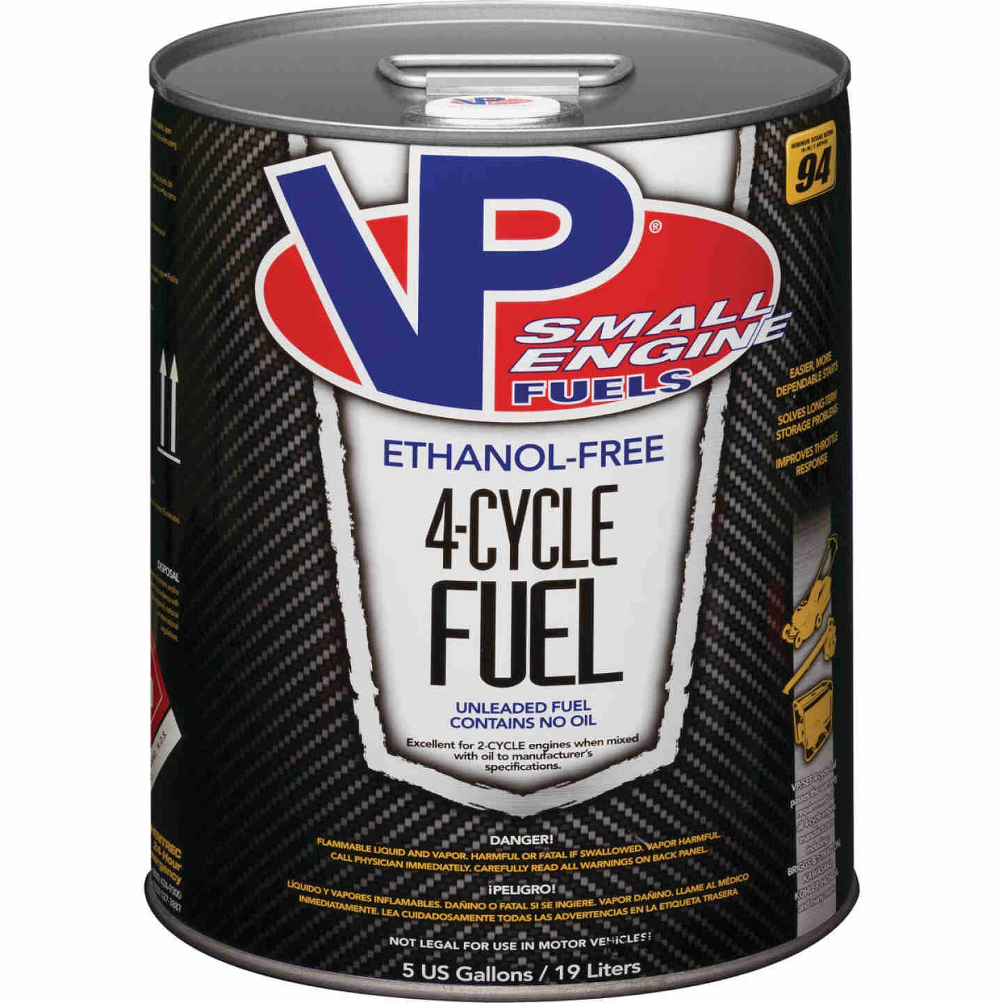 VP Small Engine Fuels 5 Gal. Ethanol-Free 4-Cycle Fuel Image 1