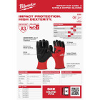 Milwaukee Impact Cut Level 3 Large Men's Nitrile Dipped Work Gloves Image 6