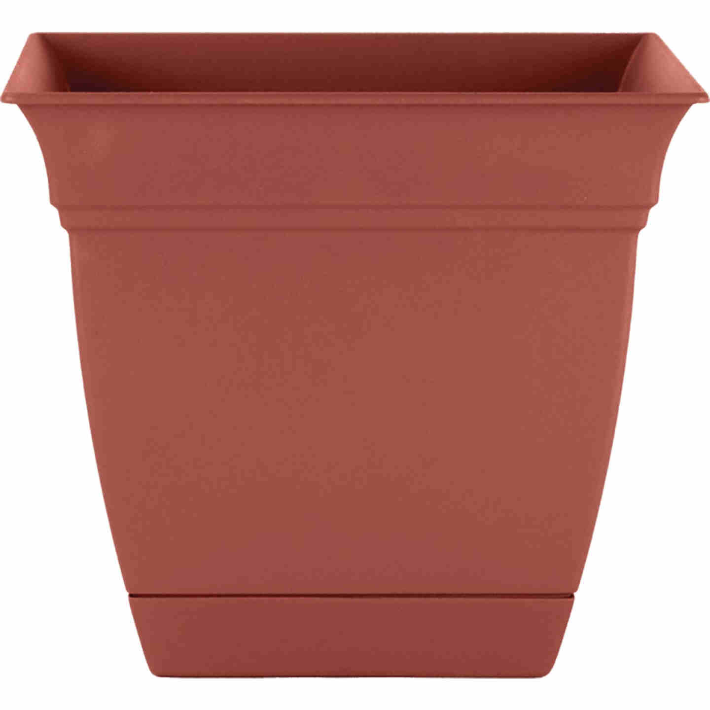 HC Companies Eclipse 12 In. x 12 In. x 10.50 In. Resin Clay Planter Image 1