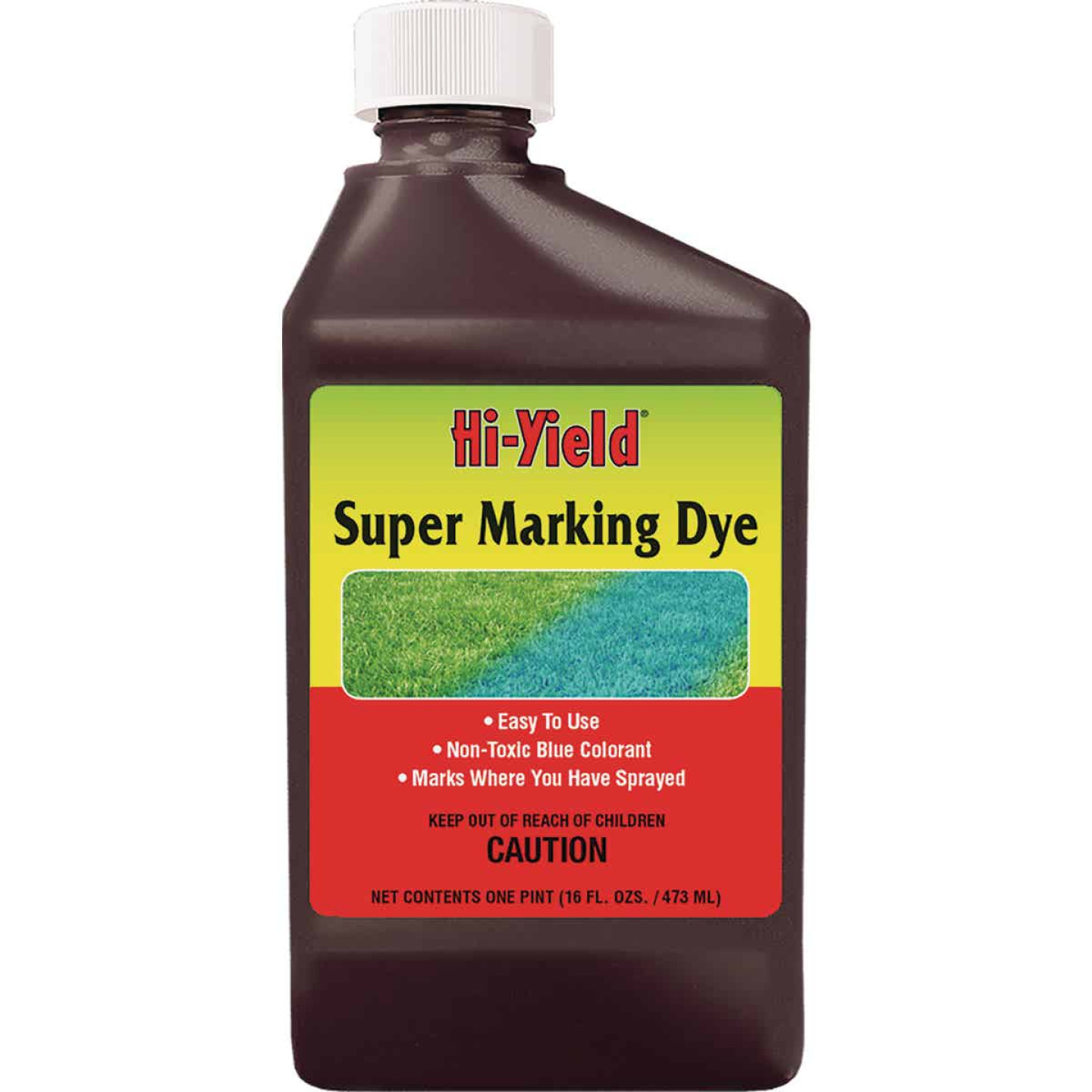 Hi-Yield 16 Oz. Blue Concentrate Super Marking Dye Image 1