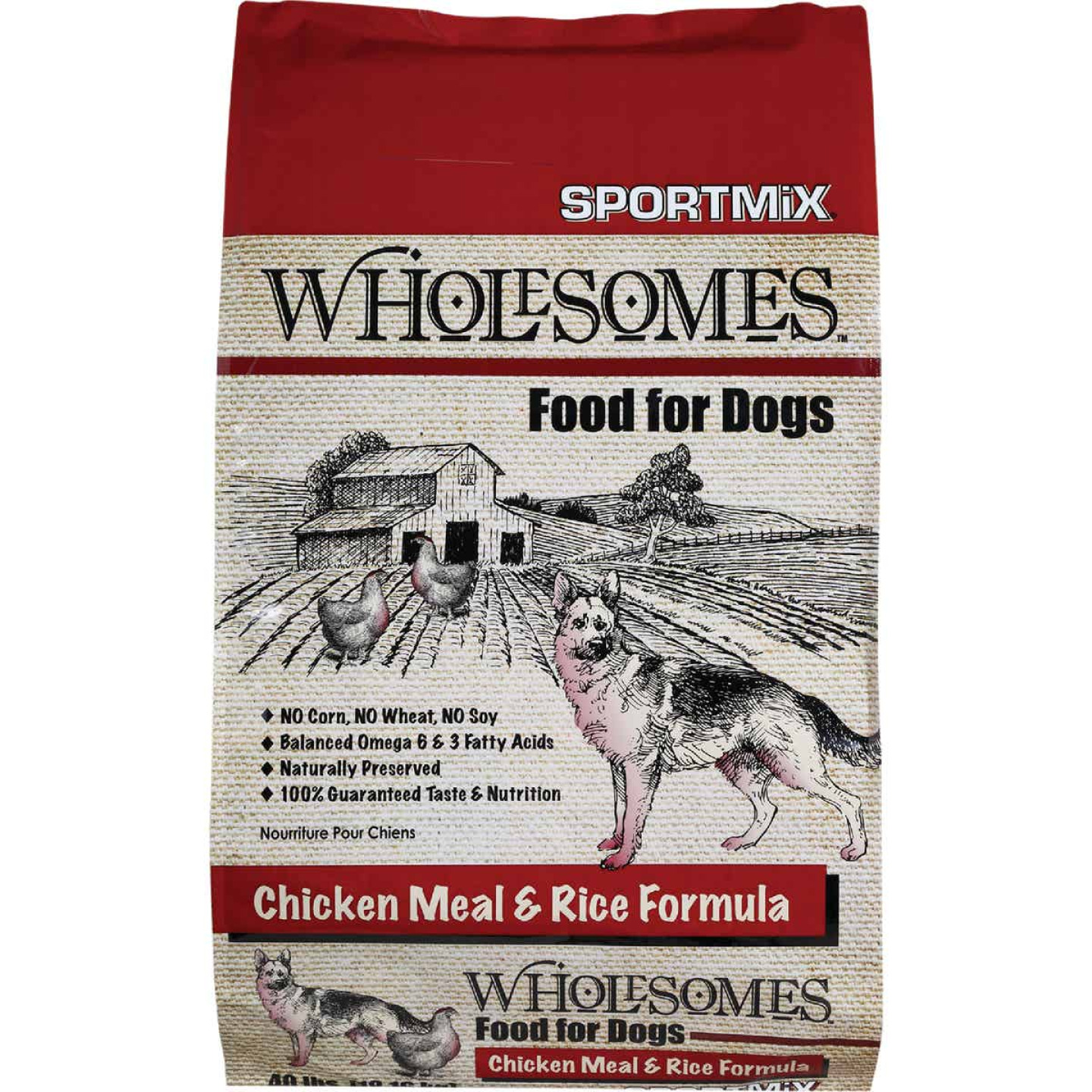 SportMix Wholesomes 40 Lb. Chicken Flavor Adult Dry Dog Food Image 1
