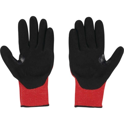 Milwaukee Impact Cut Level 3 XL Men's Nitrile Dipped Work Gloves