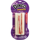 Dingo Dynostix Wrapped 5 In. Rawhide Bone (3-Pack) Image 1