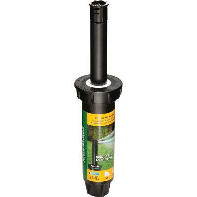 Rain Bird 4 In. Quarter Circle Dual Spray Pop-Up Head with Pressure Regulator