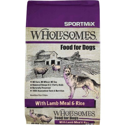 SportMix Wholesomes 40 Lb. Lamb & Fish Flavor Adult Dry Dog Food