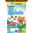 Purina Kit & Kaboodle Indoor Formula 16 Lb. Chicken, Salmon, Turkey, & Garden Green Flavor Adult Dry Cat Food Image 1