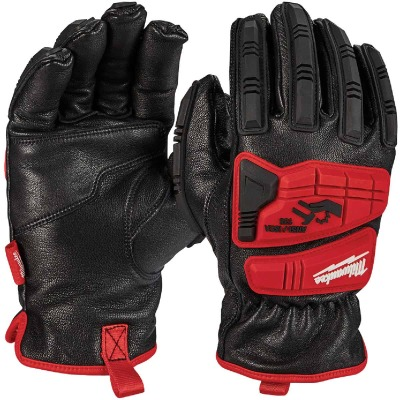 Milwaukee Impact Cut Level 5 Men's Medium Goatskin Leather Work Gloves