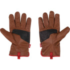 Milwaukee Impact Cut Level 3 Men's XL Goatskin Leather Work Gloves Image 2