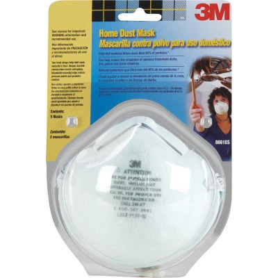 3M Disposable Home Dust Mask (5-Pack)