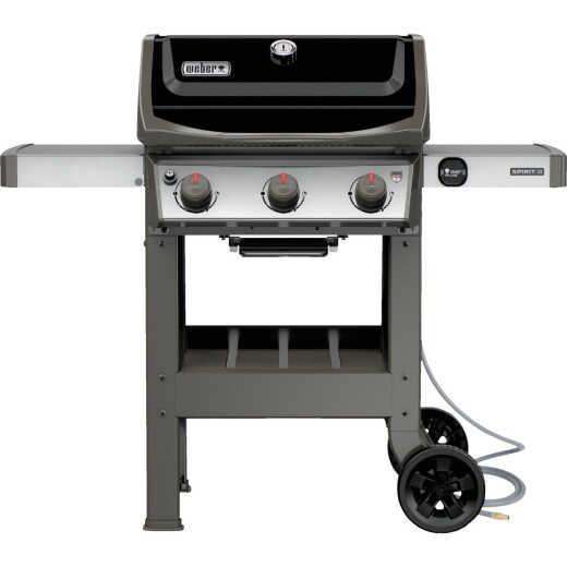 Weber Spirit II E-310 3-Burner Black 30,000-BTU Natural Gas Grill