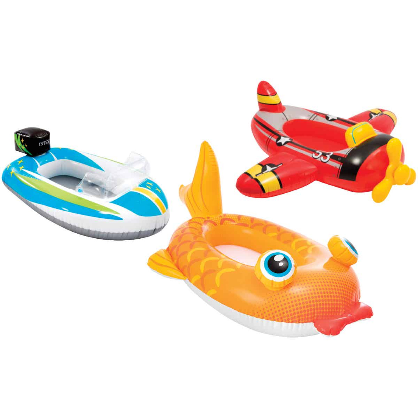 Intex Pool Cruiser Ride-On Pool Float Image 1