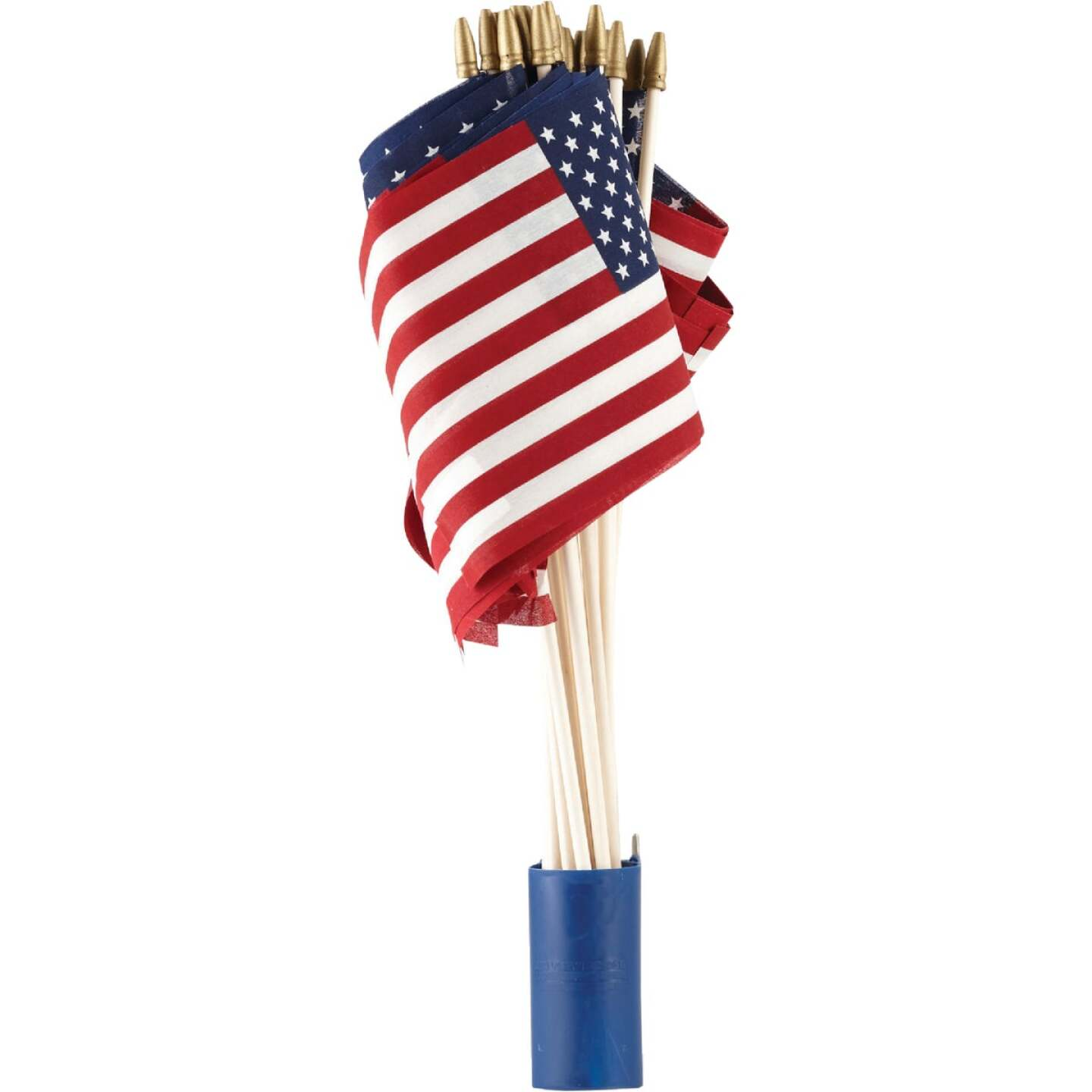 Valley Forge 8 In. x 12 In. Polycotton Stick American Flag Image 2