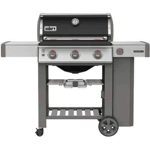 Weber Genesis II E-310 3-Burner Black 39,000 BTU LP Gas Grill