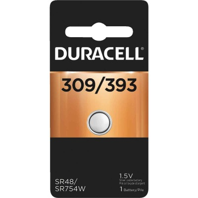 Duracell 309/393 Silver Oxide Button Cell Battery