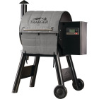 Traeger Pro 575/Pro 22 45 In. Gray Foil-Backed Heat-Resistant Fabric Insulated Blanket Grill Cover Image 1