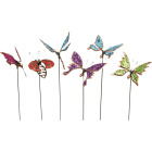 Mission Gallery 20.47 In. H. Metal Flying Friends Garden Stake Image 1