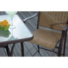 Outdoor Expressions 3-Piece Balcony Bistro Set Image 4