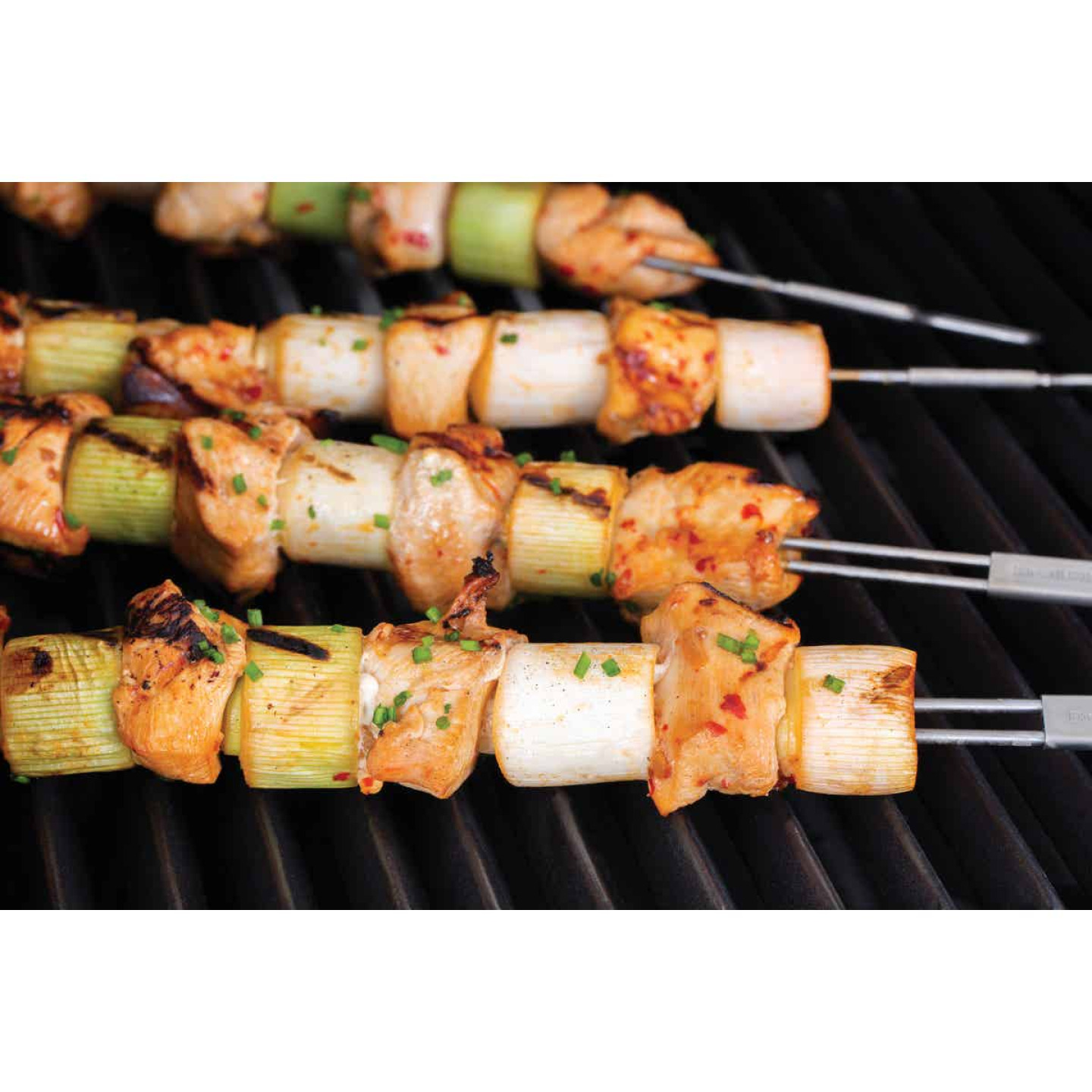 Broil King 12 In. Stainless Steel Dual Prong Skewer (4-Pack) Image 2