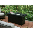 Outdoor Expressions 56 In. x 21 In. Rectangular Propane Fire Pit Table Image 2
