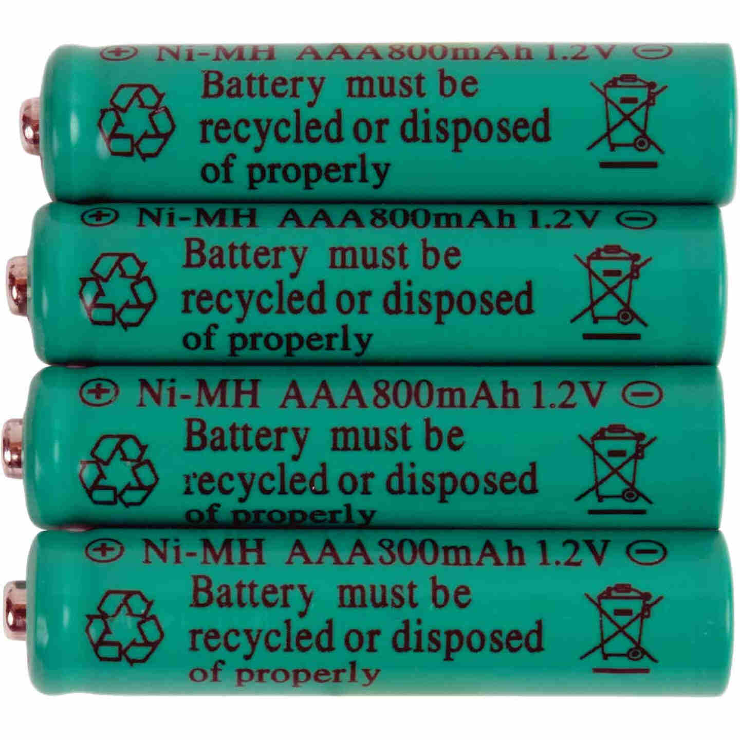 Fusion AAA 800 mAh Ni-MH Solar Replacement Battery (4-Pack) Image 2