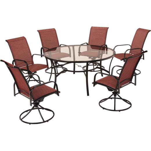 Outdoor Expressions Monaco 7-Piece Dining Set